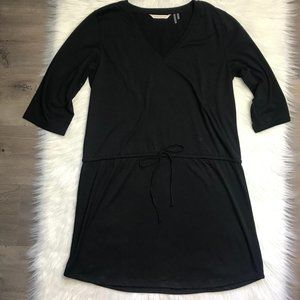 Soft Surroundings Easy Black Knit Cover Up